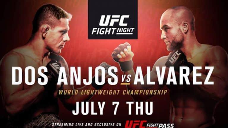 UFC Fight Night: dos Anjos vs. Alvarez 1