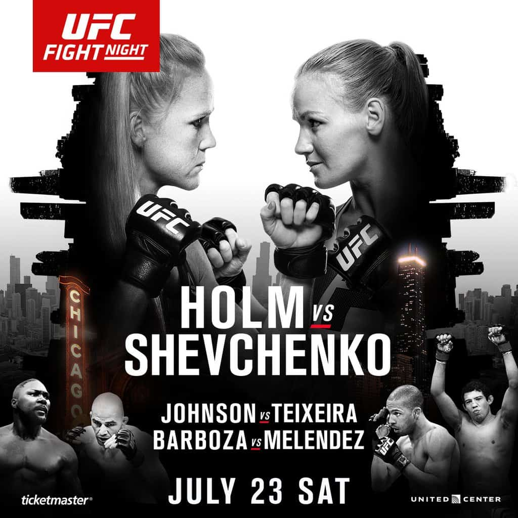 UFC on Fox: Holm vs. Shevchenko 1