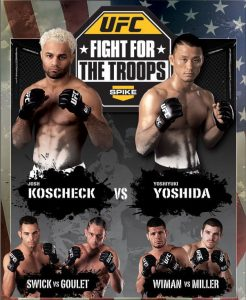 UFC: Fight for the Troops 2