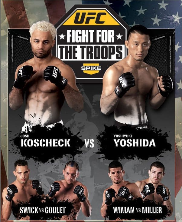 UFC: Fight for the Troops 1