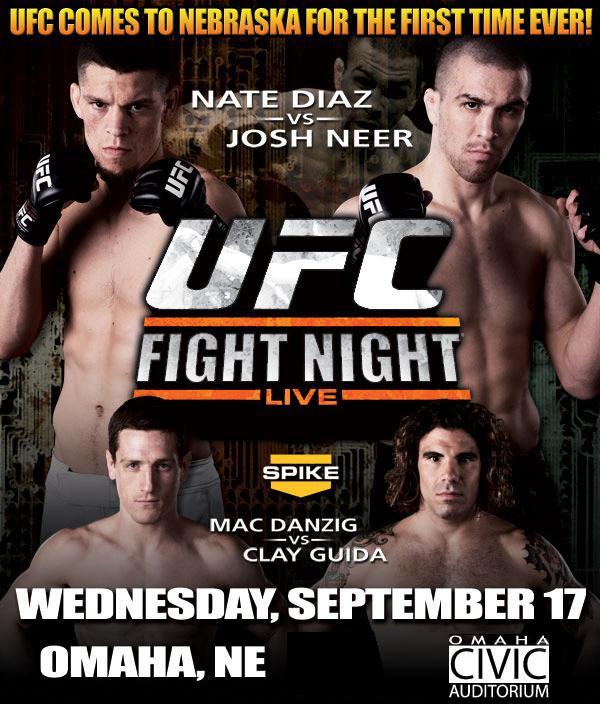 UFC Fight Night: Diaz vs. Neer 1