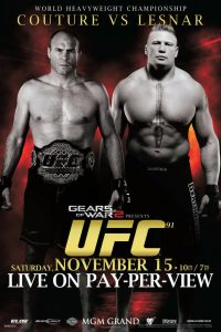 UFC 91: Couture vs. Lesnar 2