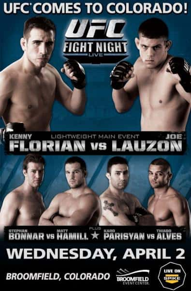 UFC Fight Night: Florian vs. Lauzon 1