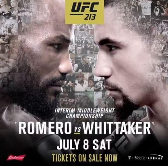 UFC 213: Romero vs. Whittaker 1