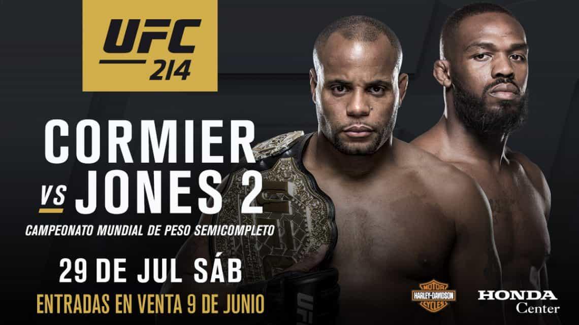 UFC 214: Cormier vs. Jones 2 1