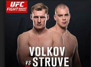 UFC Fight Night: Volkov vs. Struve 2