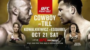UFC Fight Night: Cowboy vs. Till 2