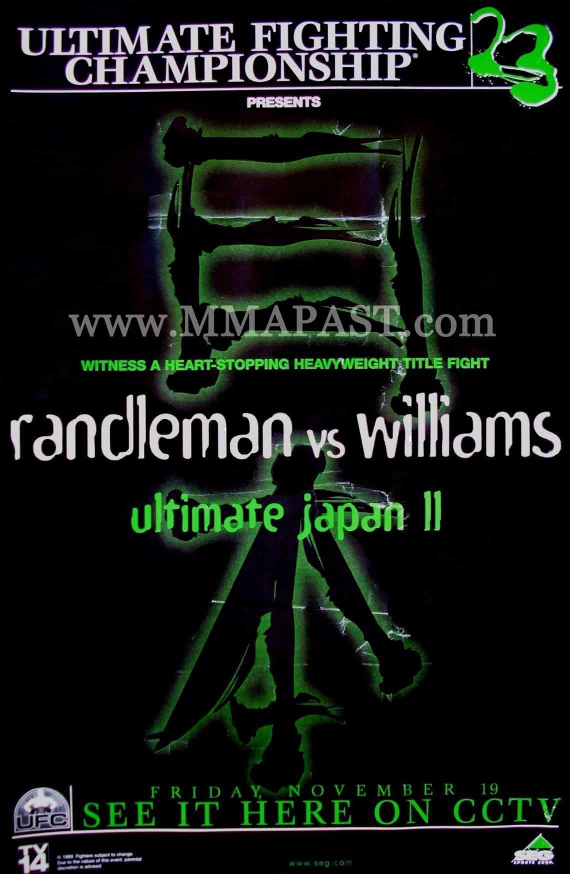 UFC 23: Ultimate Japan 2 1