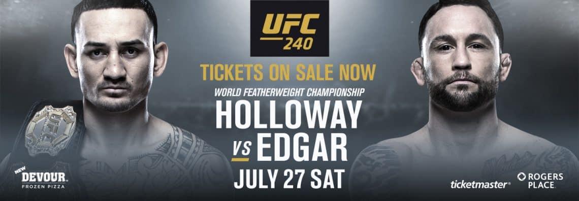 UFC 240: Holloway vs. Edgar 1