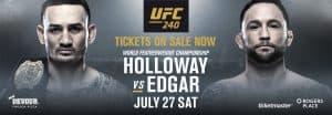 UFC 240: Holloway vs. Edgar 2