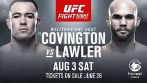 UFC on ESPN: Covington vs. Lawler 2