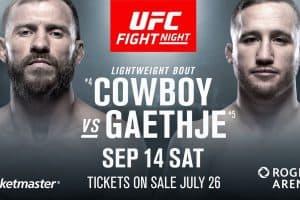 UFC Fight Night: Cowboy vs. Gaethje 2
