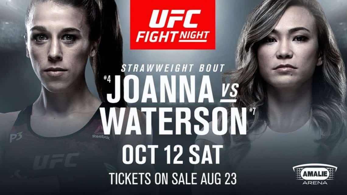 UFC Fight Night: Joanna vs. Waterson 1