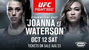 UFC Fight Night: Joanna vs. Waterson 2