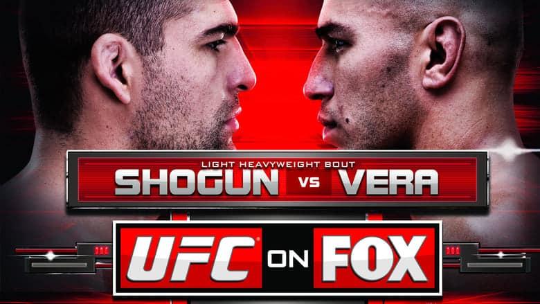 UFC on Fox: Shogun vs. Vera 1