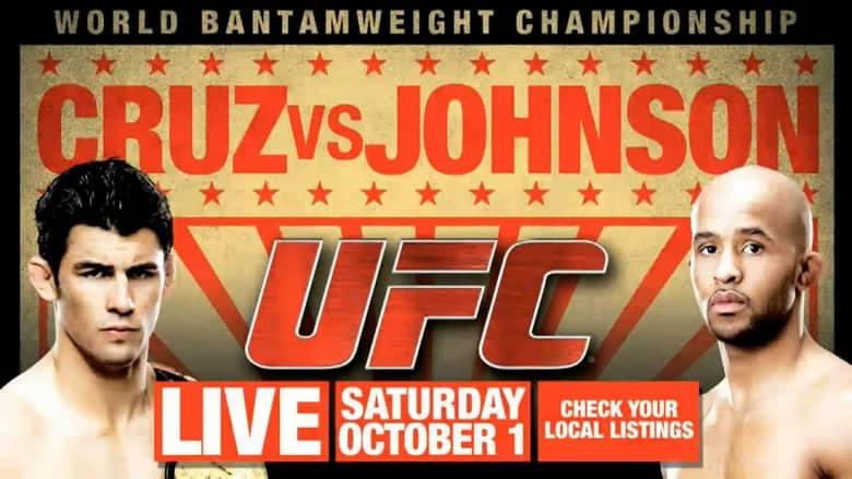 UFC Live: Cruz vs. Johnson 1