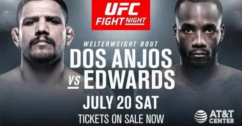 UFC on ESPN: dos Anjos vs. Edwards 1