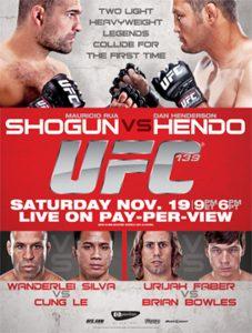 UFC 139: Shogun vs. Henderson 2