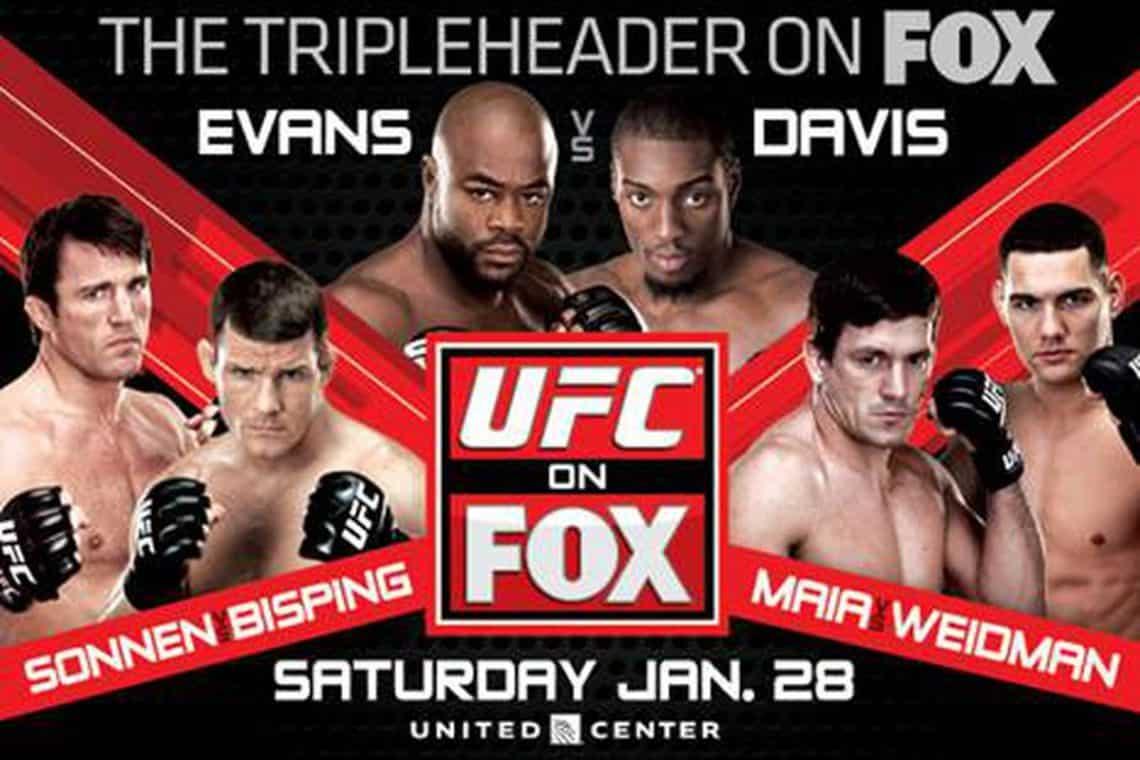UFC on Fox: Evans vs. Davis 1