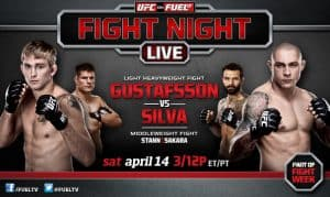 UFC on Fuel TV: Gustafsson vs. Silva 2