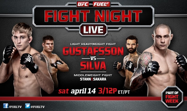 UFC on Fuel TV: Gustafsson vs. Silva 1