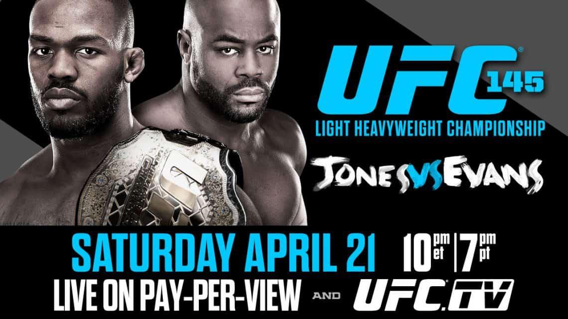 UFC 145: Jones vs. Evans 1