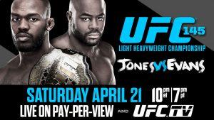 UFC 145: Jones vs. Evans 2