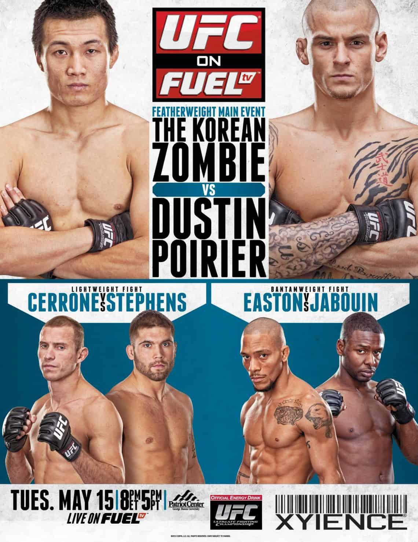 UFC on Fuel TV: Korean Zombie vs. Poirier 1