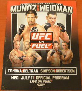 UFC on Fuel TV: Muñoz vs. Weidman 2