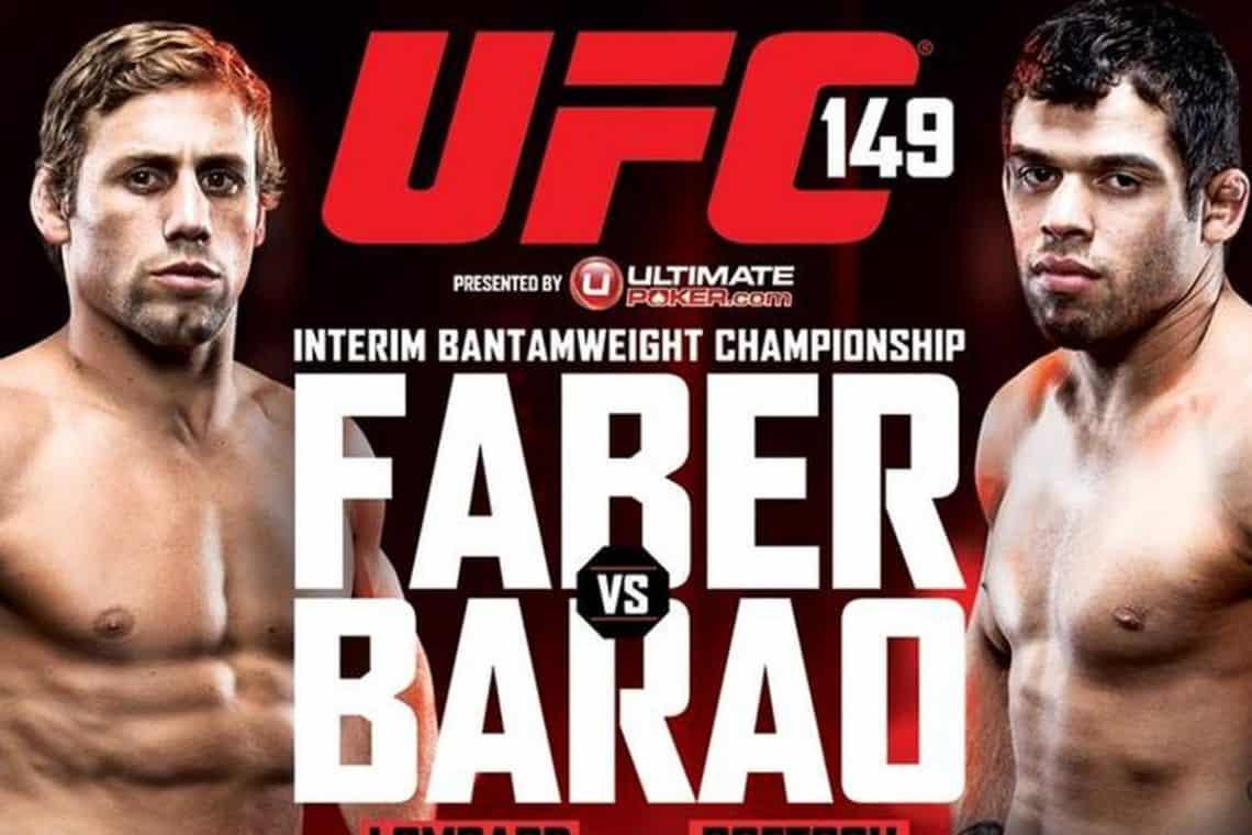 UFC 149: Faber vs. Barão 1