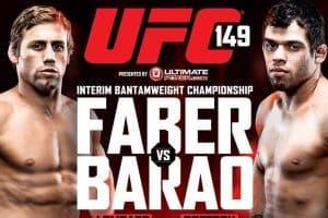 UFC 149: Faber vs. Barão 2