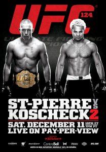 UFC 124: St-Pierre vs. Koscheck 2 2