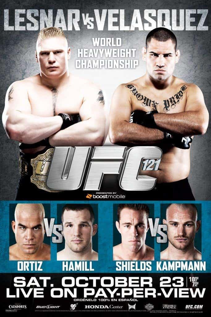 UFC 121: Lesnar vs. Velasquez 1