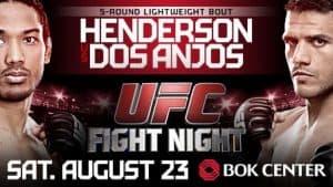 UFC Fight Night: Henderson vs. dos Anjos 2