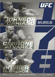 UFC 178: Johnson vs. Cariaso 2
