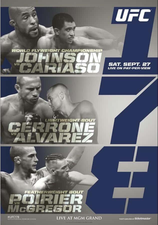 UFC 178: Johnson vs. Cariaso 1