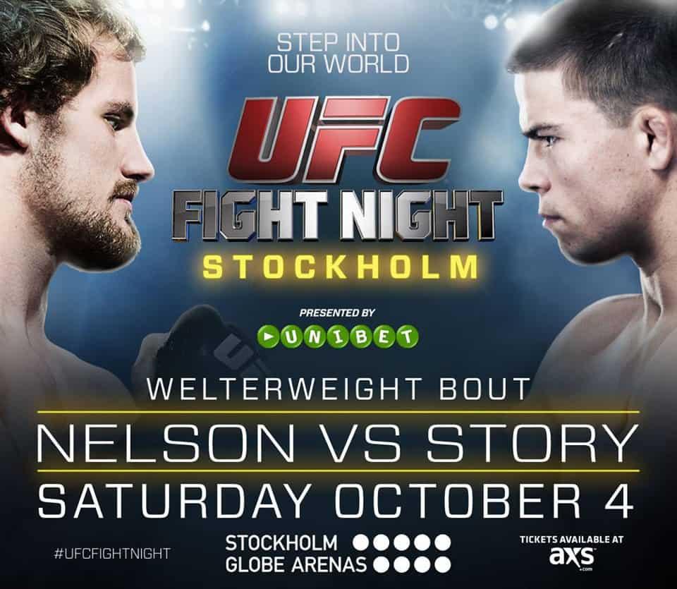 UFC Fight Night: Nelson vs. Story 1