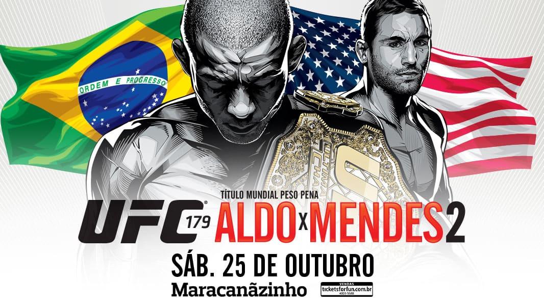 UFC 179: Aldo vs. Mendes 2 1