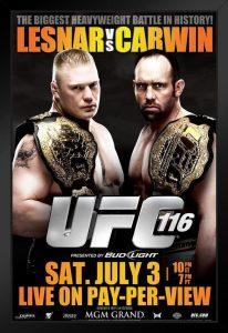 UFC 116: Lesnar vs. Carwin 2