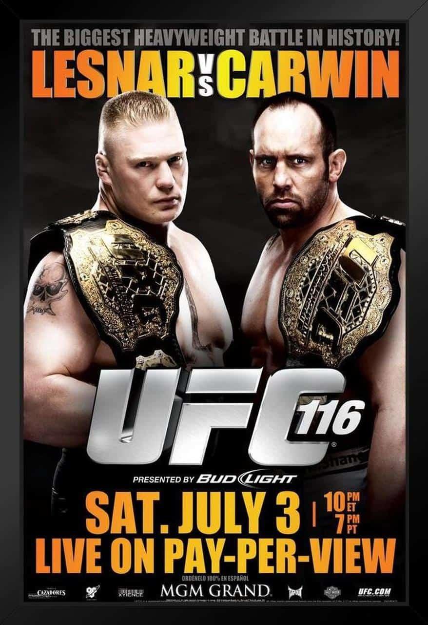 UFC 116: Lesnar vs. Carwin 1