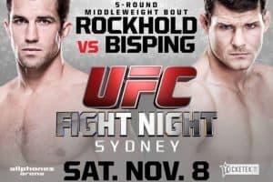 UFC Fight Night: Rockhold vs. Bisping 2