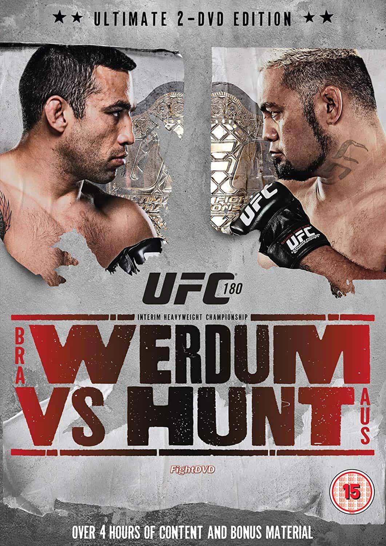 UFC 180: Werdum vs. Hunt 1
