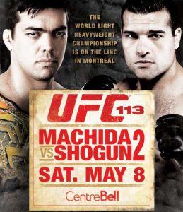 UFC 113: Machida vs. Shogun 2 2