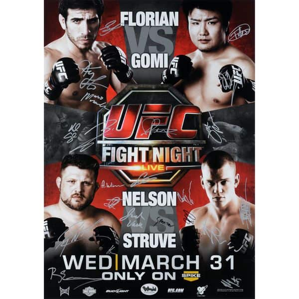 UFC Fight Night: Florian vs. Gomi 1