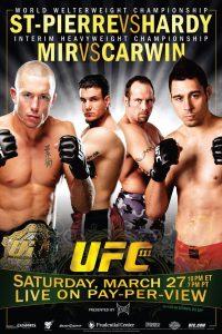 UFC 111: St-Pierre vs. Hardy 2