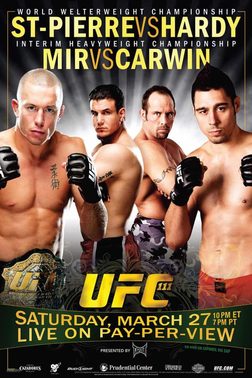 UFC 111: St-Pierre vs. Hardy 1