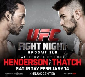 UFC Fight Night: Henderson vs. Thatch 2