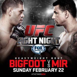UFC Fight Night: Bigfoot vs. Mir 2