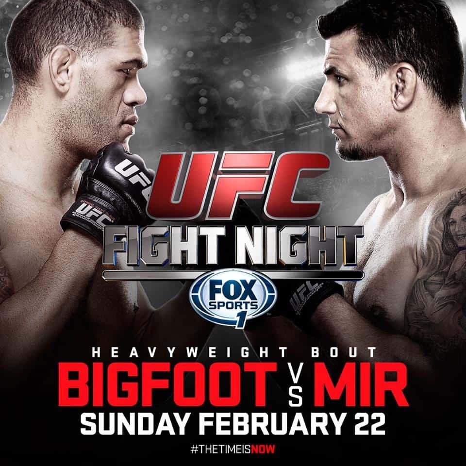 UFC Fight Night: Bigfoot vs. Mir 1