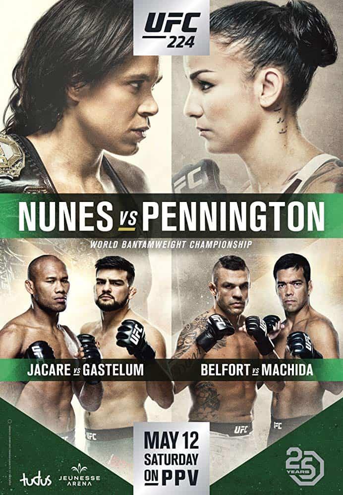 UFC 224: Nunes vs. Pennington 1
